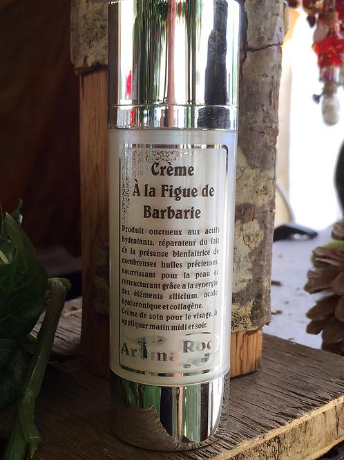 Crème visage Lait d'Anesse Figue de Barbarie et Q10
