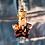 Thumbnail: Fiole Talisman grenats feuille d'or