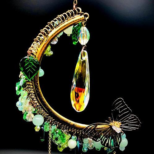 Arc en ciel demi lune papillon chance et prospérité