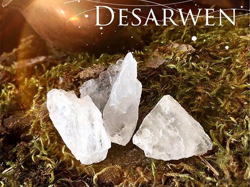 Cristal de roche rocaille