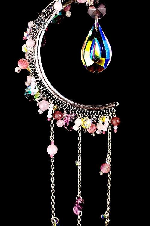 Arc en ciel mermaid rose ( apaisant réconfortant )