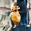 Thumbnail: Fiole feuilles d'or citrine