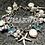 Thumbnail: Bracelet breloque cristal et nacre
