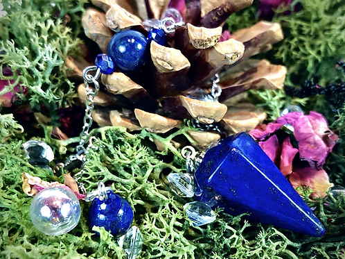 Mini pendule lapis lazuli