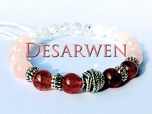 Quartz roses,quartz fraises & Cristal de roche