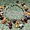 Thumbnail: Bracelet breloques Grenats et Quartz Rutilés
