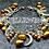 Thumbnail: Bracelet breloques Nacres et cristal de roche