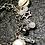 Thumbnail: Bracelet breloques nacres cristal et pierre de lune
