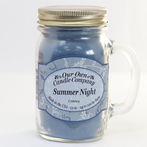 Bougie Summer Night