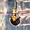 Thumbnail: Fiole Talisman œil de tigre feuille de cuivre