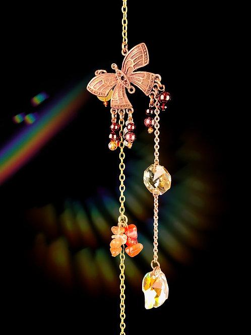 Papillon Grenats Cornalines