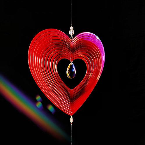 Hypnotique coeur rouge