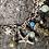 Thumbnail: Bracelet breloques Aigue Marine et labradorites