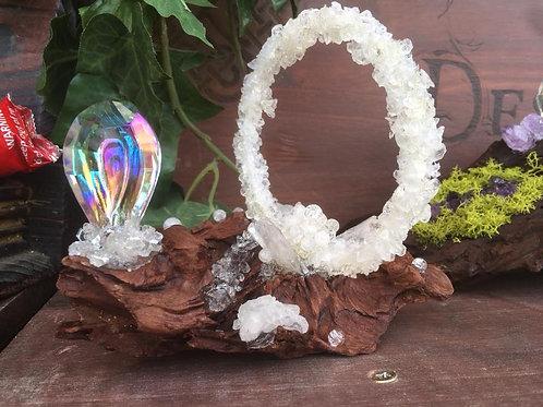 Mini branche Cristal de roche