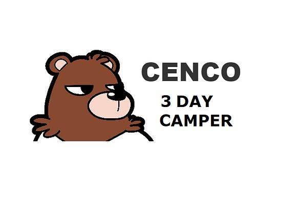 3 Day Registration Junior Development Camp