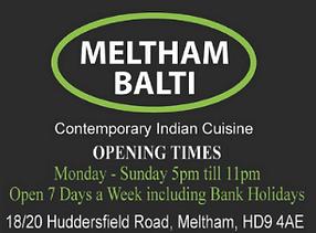 Meltham Balti