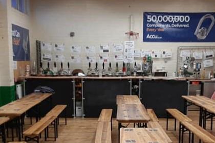 NovemBEER Scaffold Bar