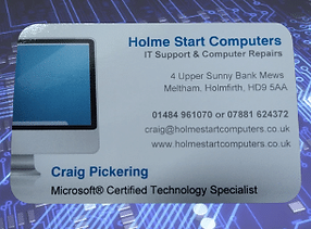 Holme Start Computers