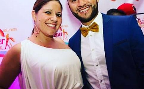 Leslie Ferreira and Jorge Contreras