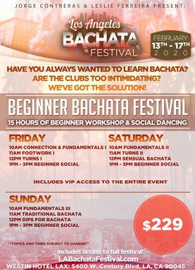 The beginner Bachata Festival at the Los Angeles Bachata Festival