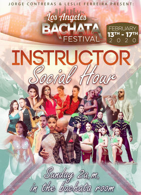 World Famous Instrucrors at the Los Angeles Bachata