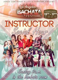 Instructors Social Hour