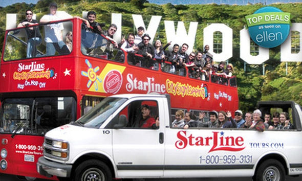 Starline Hollywood tour