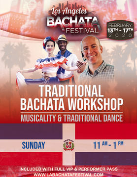 2hr. Traditional Bachata Workshop