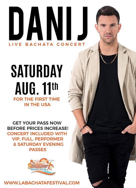 Dani J live in concert