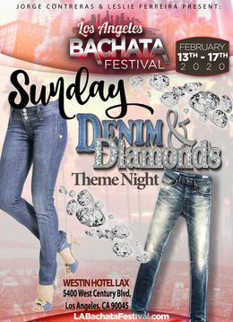 Sunday theme night: Denim & Diamonds