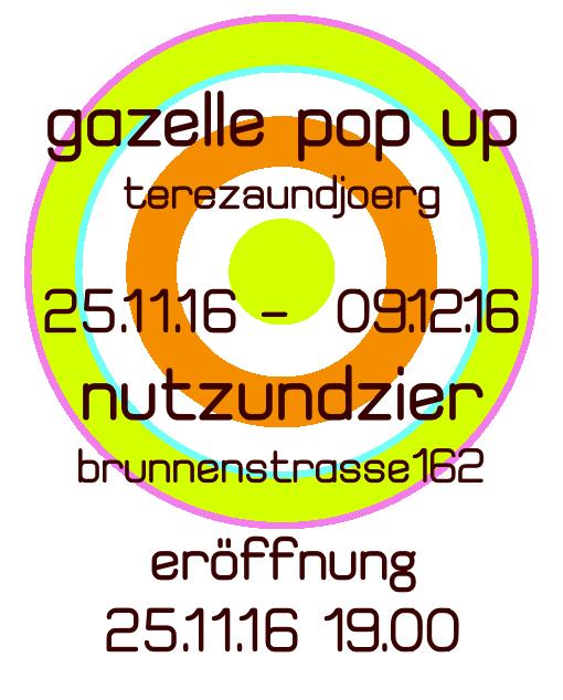 GAZELLE POP UP