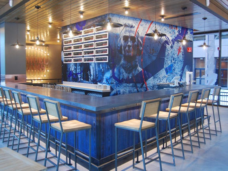 Here's your first look at the new Samuel Adams Boston Tap Room at Faneuil Hall