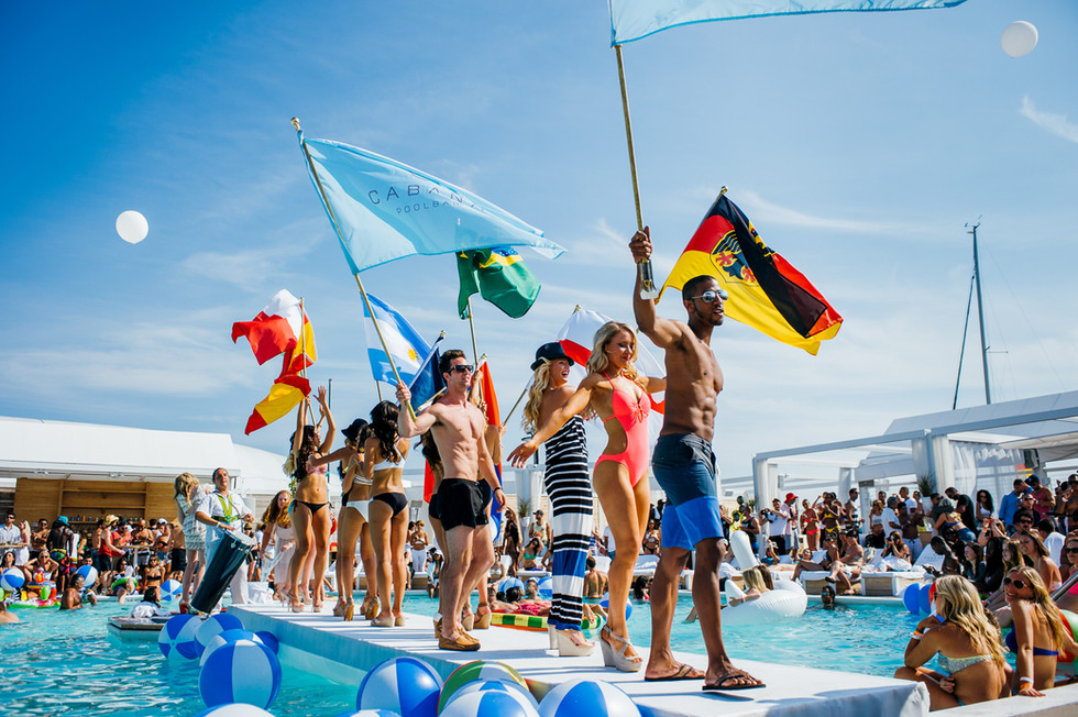 Cabana Pool Bar - Client Ink Entertainment