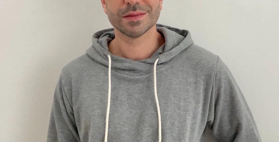 Kit moletom masculino: calça + blusão