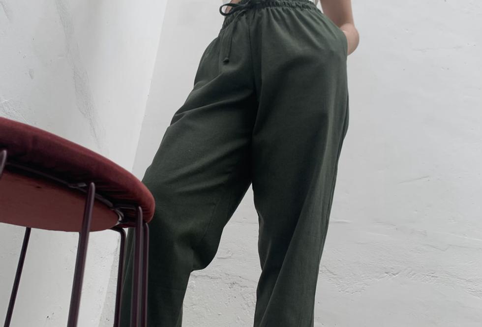 Calça Sportwear de linho