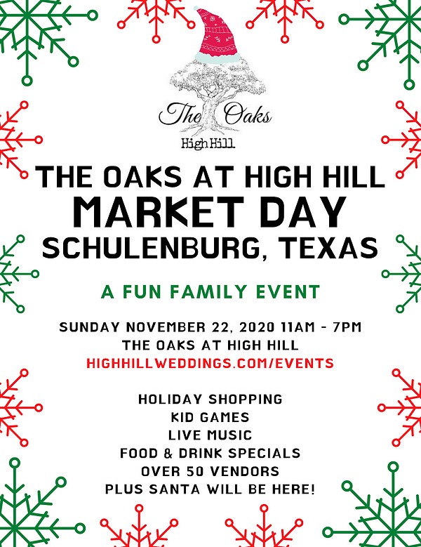 Market Day The Oaks at High Hill