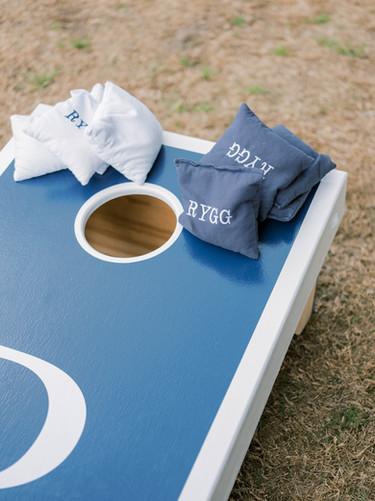 Customized bean bag toss _ Jenny King Ph