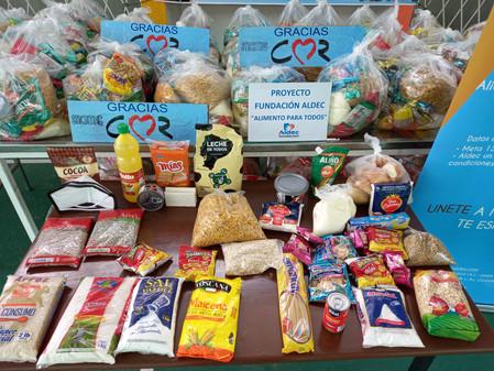 COVID noodhulp voor Casa Aldec in Ecuador