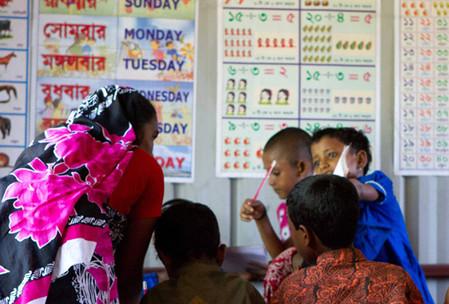 Goed onderwijs in zeer afgelegen gebieden Bangladesh
