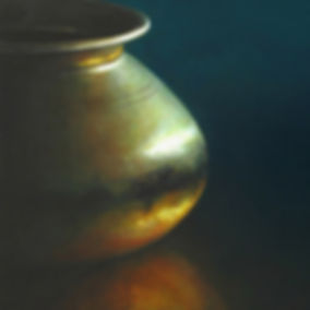 schilderij Debora Makkus Infinite, waterkruik India, painting water jar
