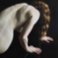 painting Rise, female figure
