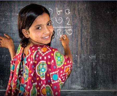 EDUCATIE IN AFGELEGEN GEBIED BANGLADESH