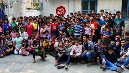 BRANDVEILIGHEID HUIZEN EN SCHOOL FUTURE HOPE, INDIA