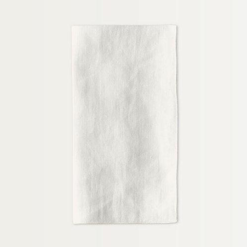 Linen Napkin Set in Antique White