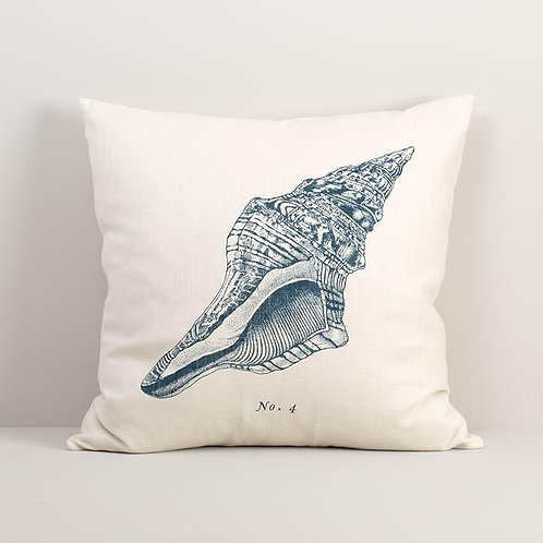 Seashell No. 4 Pillow Cover