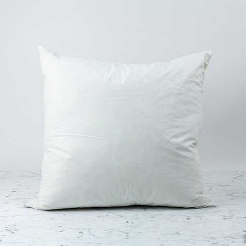 Synthetic Down Feather Pillow Insert 16x16