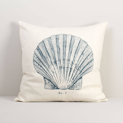 Seashell No. 5 Pillow Cover
