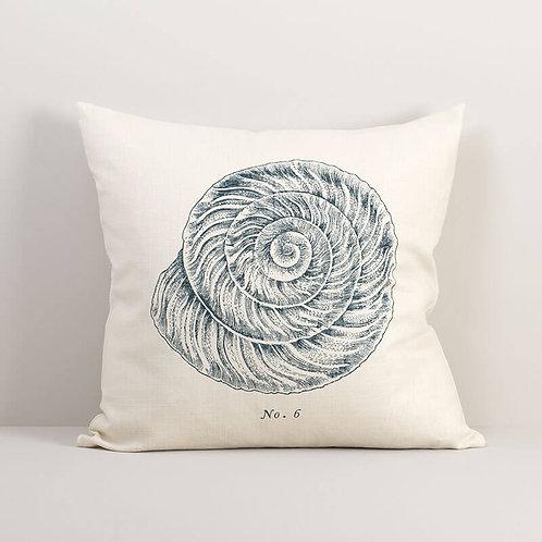 Seashell No. 6 Pillow Cover