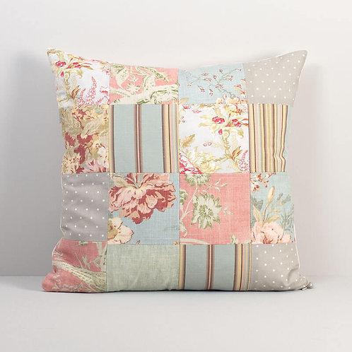 Vintage Patchwork Pillow Cover