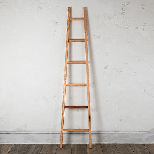 Artisan Oak Tapered Ladder w/Mahogany Accent